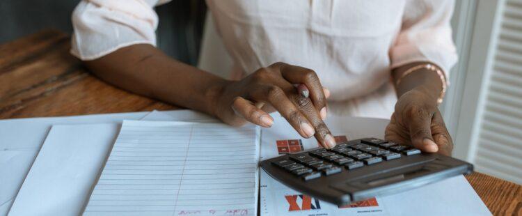 obliczanie na kalkulatorze